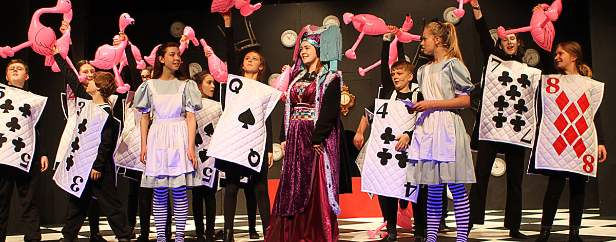 Scene from a Youth Theatre production