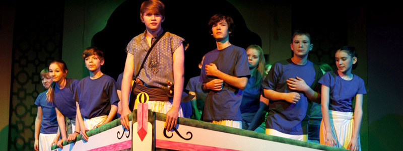 Scene from an RLT Youth Theatre production