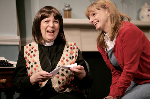 Scene from The Vicar of Dibley